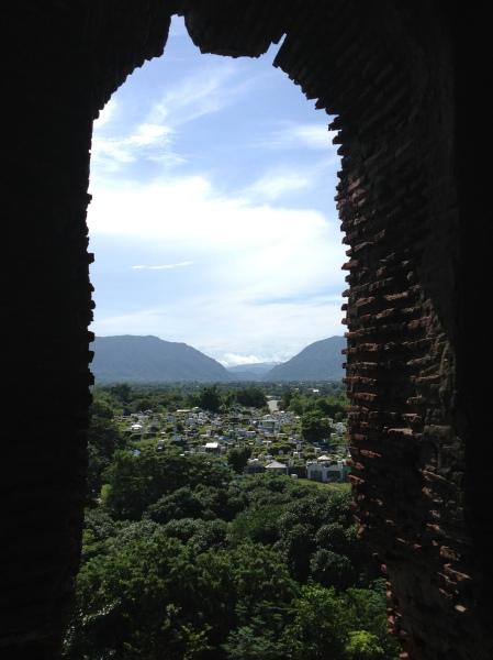 Bell Tower of Santuario de Nuestra Senora de Caridad, Bantay, Ilocos Sur, Philippines