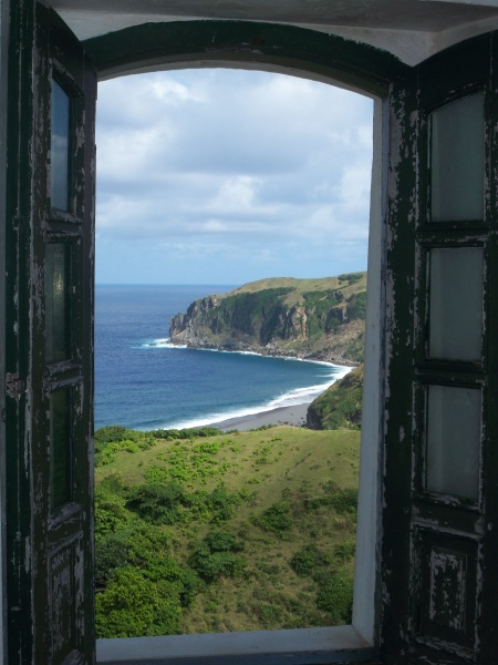View from a lighthouse in Batanes, Philippines
